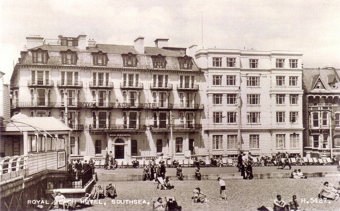 History Of Best Western Royal Beach Hotel Portsmouth